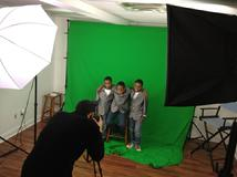 J. Alexander Productions - Photo shoot for print advertisement in the studio.